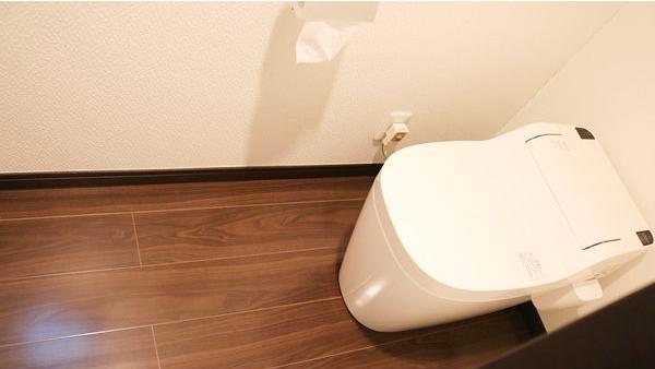 清掃後-1階トイレ