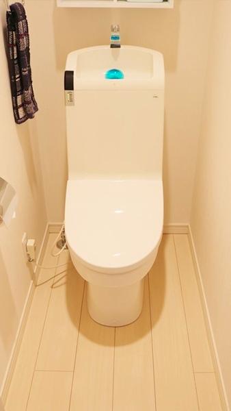 清掃後-2階トイレ
