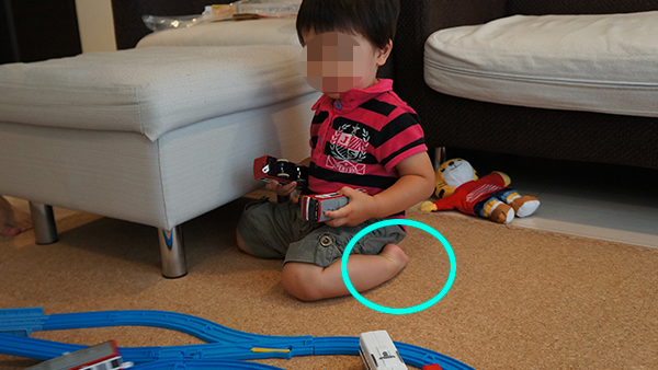 息子の幼き日のプラレール遊び3
